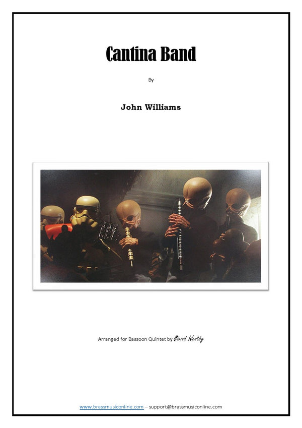 Williams - Cantina Band - Bassoon Quintet