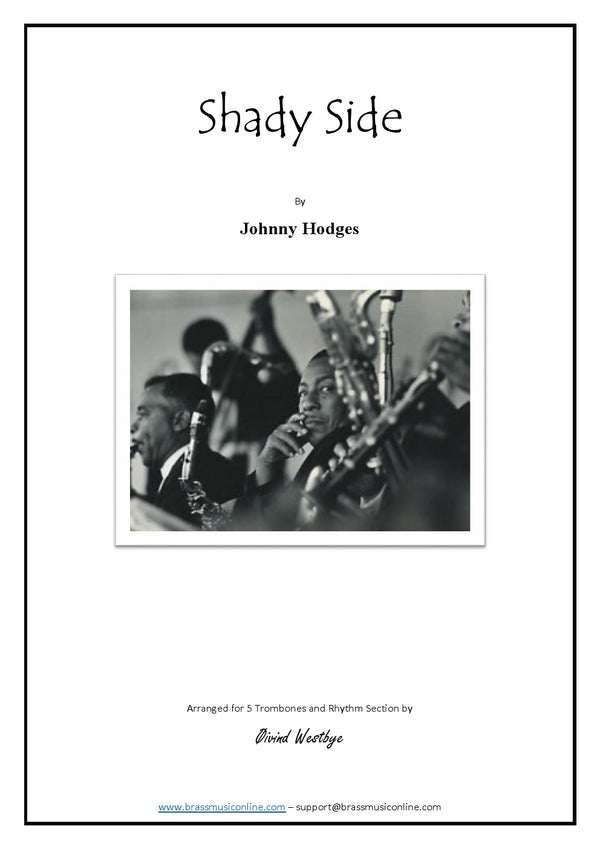 Hodges - Shady Side - Trombone Quintet and Rythm Section