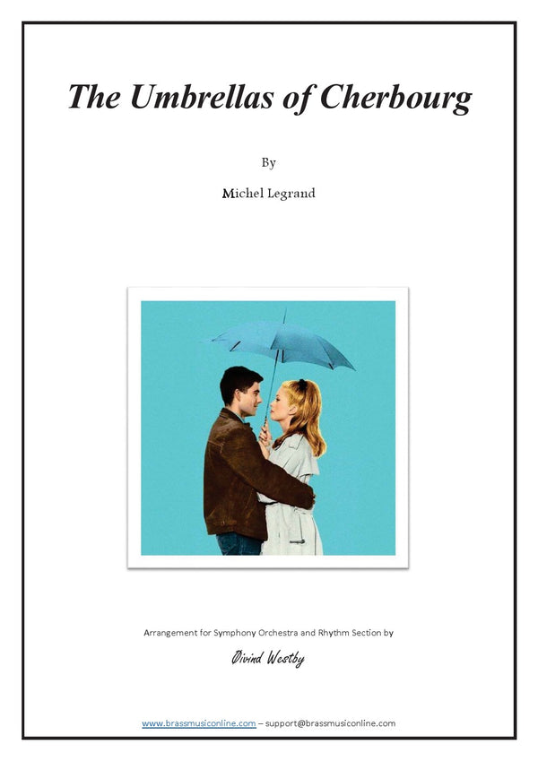 Legrand - The Umbrellas of Cherbourg - Symphony Orchestra and Rhythm Section