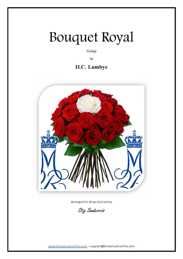 Lumbye - Bouquet Royal - Brass Quintet