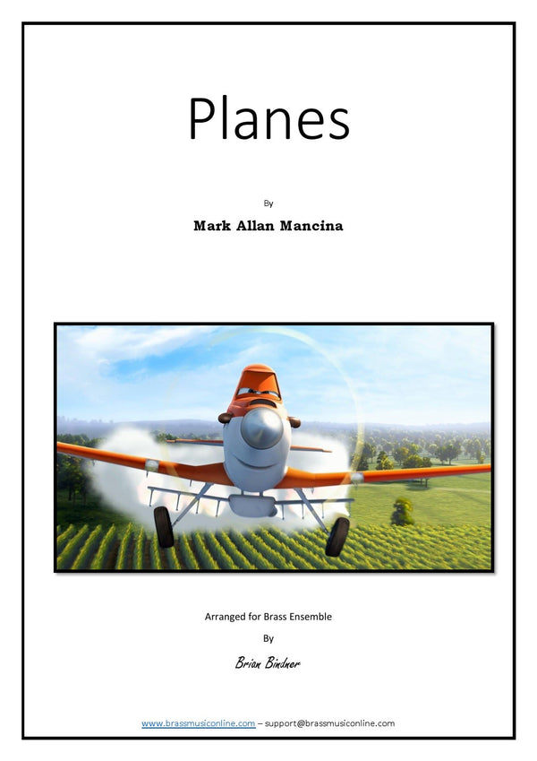 Mancina - Planes - Brass Ensemble
