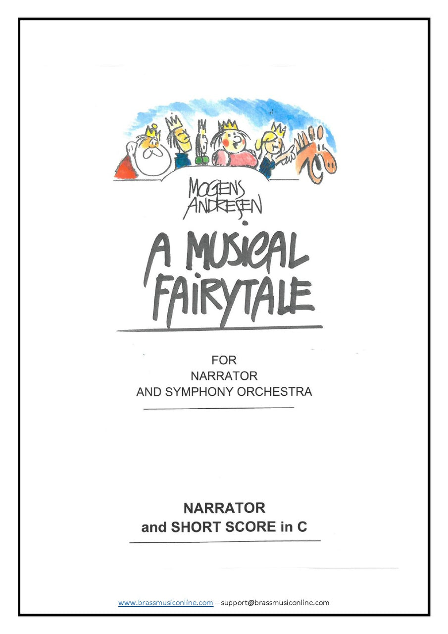 Andresen - A Musical Fairytale - Symphony Orchestra and Narrator