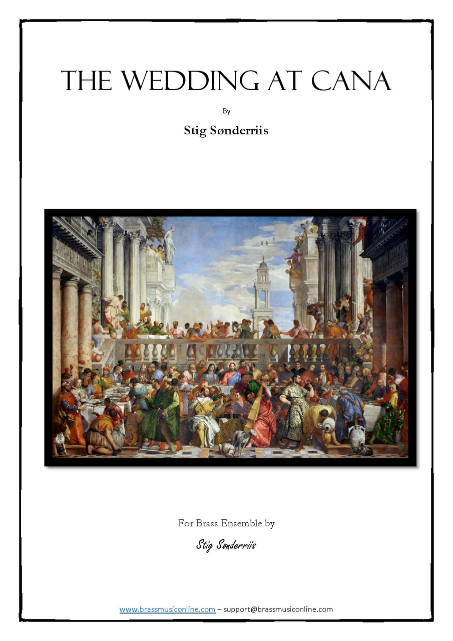 Soenderriis - The Wedding at Cana - Brass Ensemble