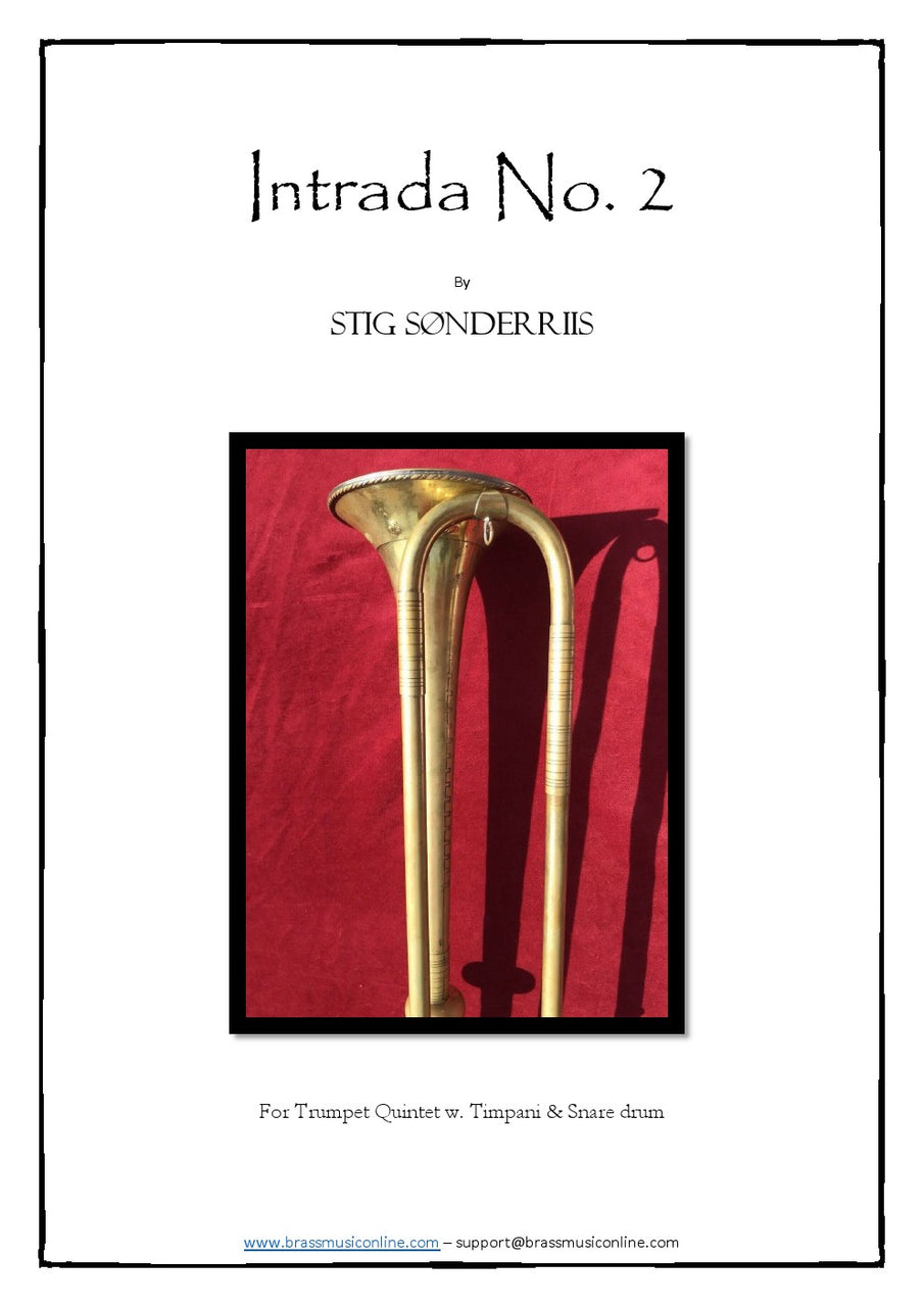 Sonderriis - Intrada No. 2 For Trumpet Ensemble, Timpani and Snare Drum