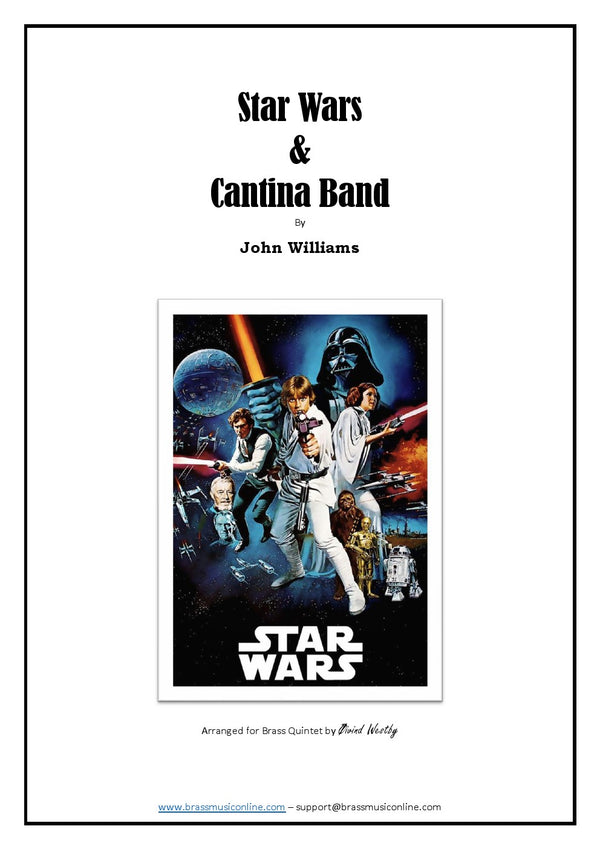 Williams - Star Wars and Cantina Band - Brass Quintet