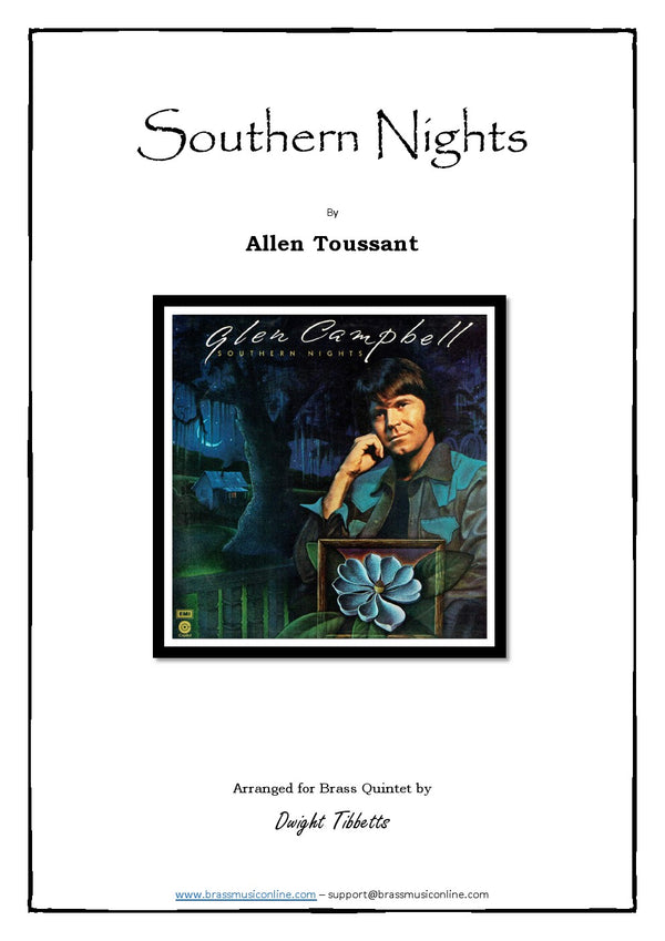 Toussant - Southern Nights - Brass Quintet