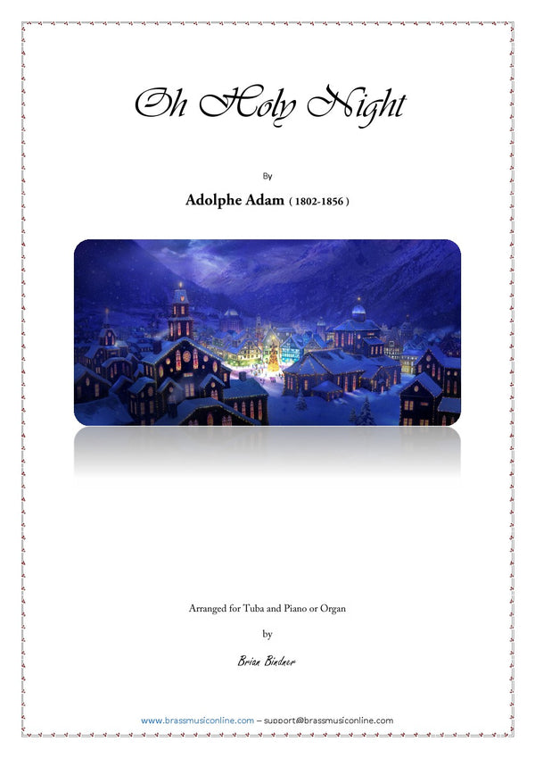 Adams - O Holy Night - Tuba and Organ or Piano