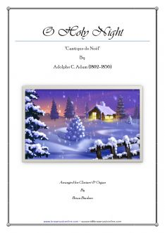 Adams - O Holy Night - Clarinet and Organ