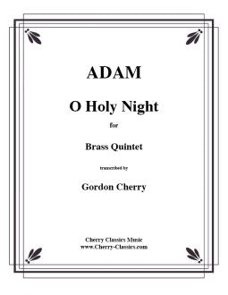 Adam - O Holy Night for Brass Quintet