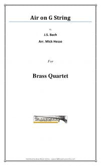 Bach - Air on G String - Brass Quartet