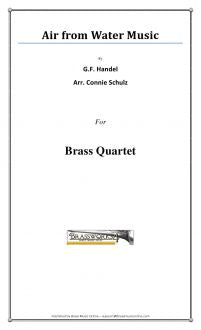 Handel - Air from Water Music - Brass Quartet