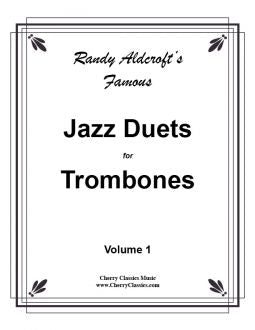 Aldcroft – 12 Famous Jazz Duets for Trombones, volume 1