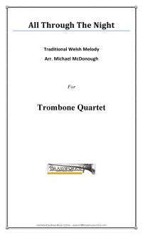 Traditional - All Through the Night - Trombone Quartet
