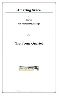 Newton - Amazing Grace - Trombone Quartet