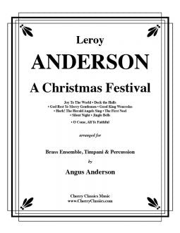 Anderson – A Christmas Festival for 11 part Brass Ensemble, Timpani and Percussion