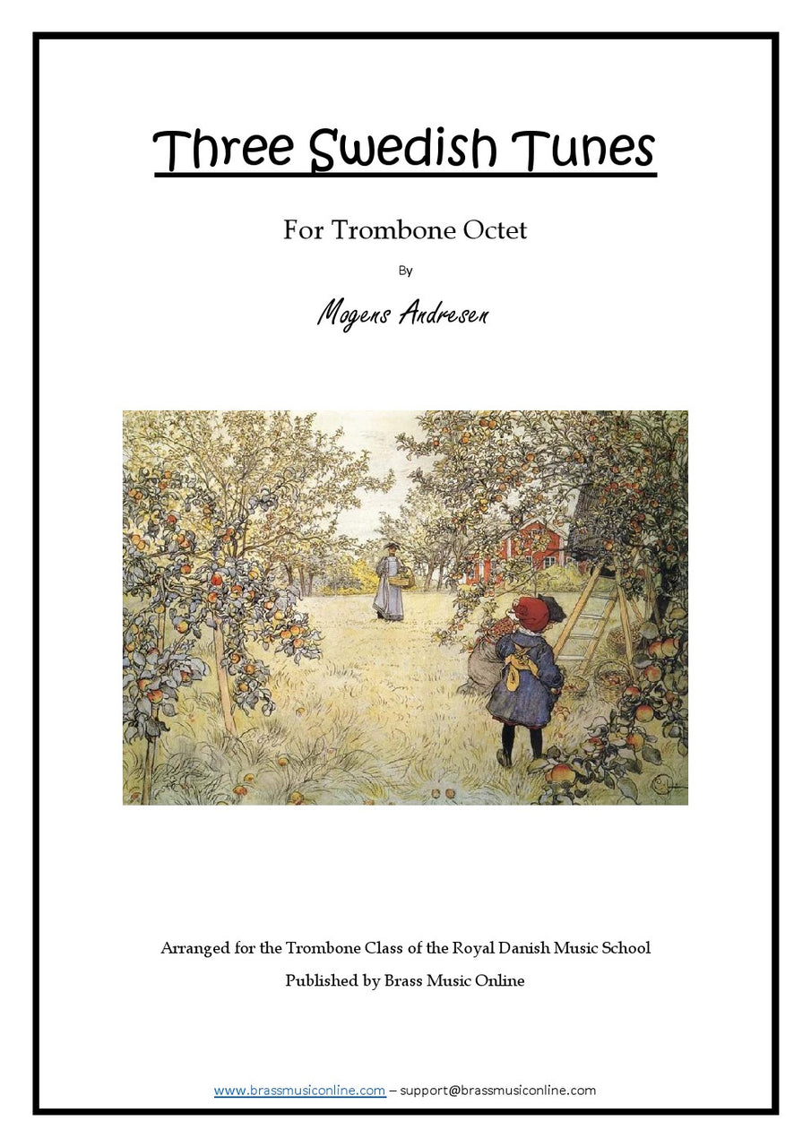 Three Sweedish Tunes - Trombone Octet