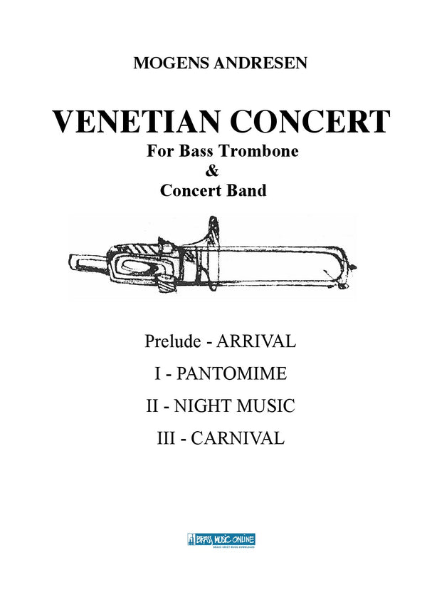 Andresen - Venetian Concert for Bass Trombone and Concert Band