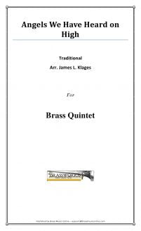 Traditional - Angels We Have Heard On High - Brass Quintet