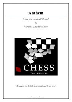 "Anthem from ""Chess"" for Solo instrument and Brass Choir"