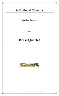 Ramsey - A Suite for Clowns - Brass Quartet