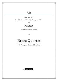 Bach - Air on the G string - Brass Quartet