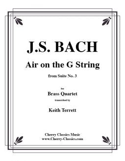 Bach - Air on the G String from Suite No. 3 for Brass Quartet