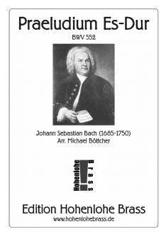Bach - Praeludium in E-flat BWV 552 - for 10 piece Brass Choir