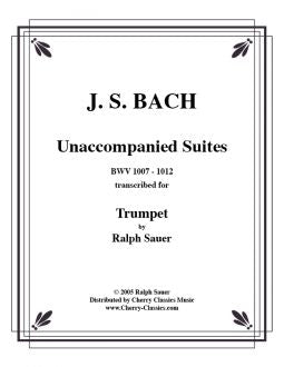 Bach Cello suites - For Trumpet