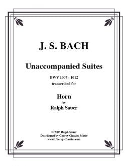 Bach - Unaccompanied Suites for Horn