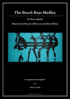 The Beach Boys Medley for Brass Quintet