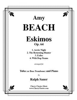 Beach – Eskimos, Op. 64 for Tuba and Piano
