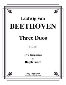 Beethoven – Three Duos for Two Trombones