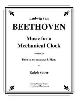 Beethoven – Music for a Mechanical Clock for Tuba & Piano
