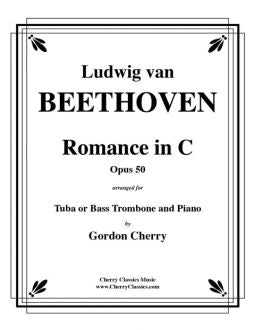 Beethoven – Romance in C Opus 50 for Tuba or Bass Trombone and Piano