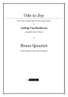 Beethoven - Ode to Joy - Brass Quartet