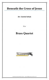 Maker - Beneath the Cross of Jesus - Brass Quartet