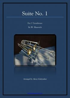 Blazhevich Suite 1 for 3 Trombones