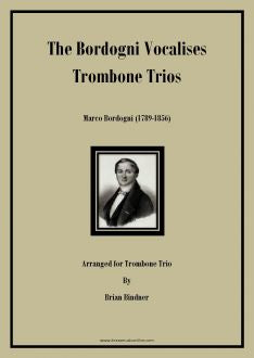 Bordogni Vocalises for Trombone Trio No. 1 - 5