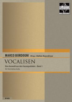 Bordogni - Vocalises for Tuba or Bass Trombone