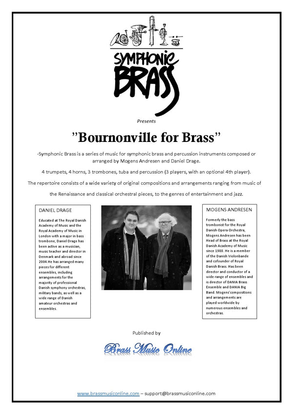 Bournonville for Brass - Symphonic Brass Series