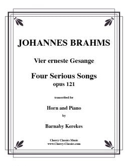 Brahms - Four serious songs - Horn and Piano