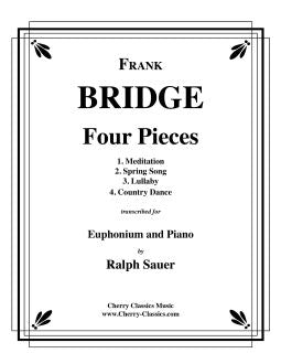 Bridge – Four Pieces for Euphonium & Piano
