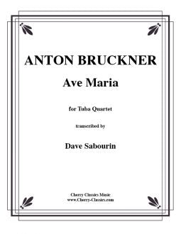 Bruckner - Ave Maria for Tuba Quartet