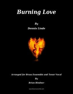 Burning Love - Brass Choir and Tenor