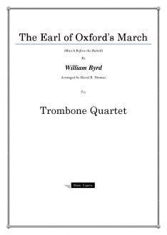Byrd - Earl of Oxford's March - Trombone Quartet