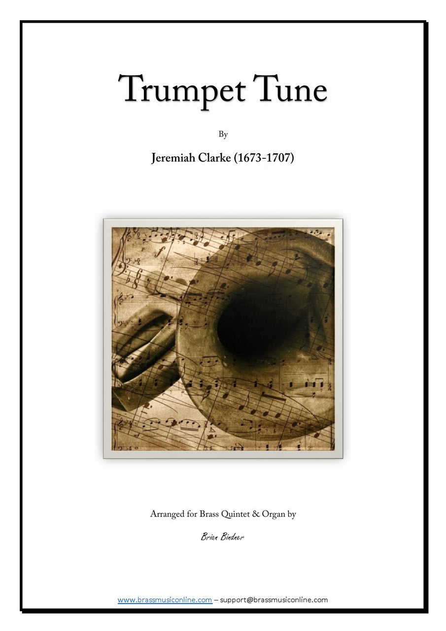 Clarke - Trumpet Tune for Brass Quintet and Organ