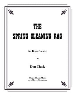 Clark - Spring Cleaning Rag for Brass Quintet