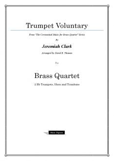 Clark - Trumpet Voluntary - Brass Quartet