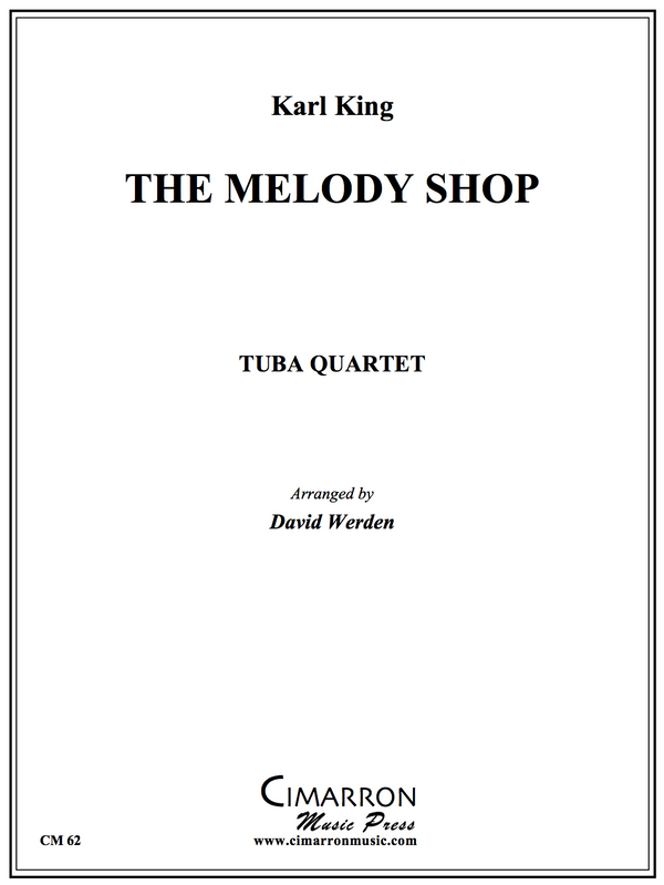 King - The Melody Shop - Tuba Quartet