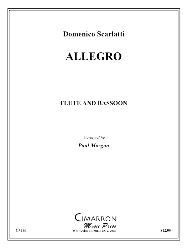 Scarlatti - Allegro - Flute and Bassoon